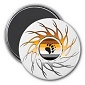 Eye of the Storm Bear Pride Magnet