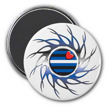 Eye of the Storm Leather Pride Magnet