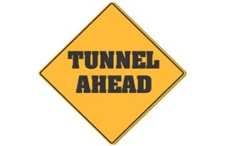 Tunnel Ahead Tank Top