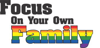 Focus On Your Own Family Key Chain