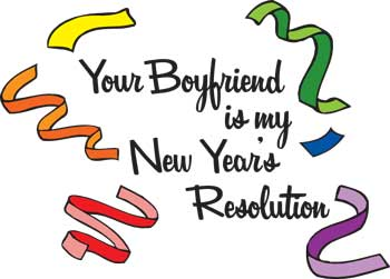 Your Boyfriend Is My Resolution Key Chain