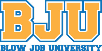 BJU (Blow Job University) Mouse Pad
