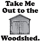 Woodshed Key Chain
