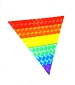 Rainbow Triangle Reflective Sticker