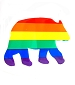 Rainbow Bear Sticker