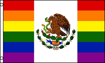 Mexican Pride Flag 3ft x 5ft Printed Polyester