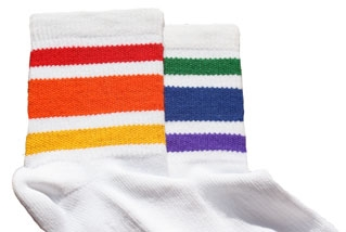 Rainbow Pride Low Cut (Large) Socks