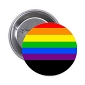 Rainbow Memorial Button