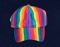 Rainbow Stripe Cap / Hat