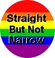 Straight But Not Narrow Men's Tank Top