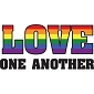 Rainbow Love One Another Shirt