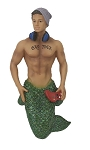 Gay-Mer Merman Ornament