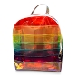 Rainbow Jelly Back Pack