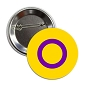 Intersex Pride Button