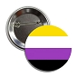 Non Binary Pride Button