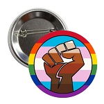 BLM TLM LGBTQ+LM Button