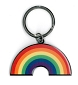 Rainbow  Arch Metal Key Chain