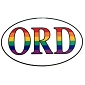 ORD (Chicago) Sticker