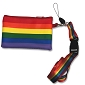 Rainbow Coin Purse w/Lanyard