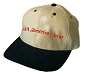 All American Bear Embroidered Khaki & Black Cap / Hat