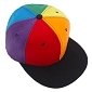 Rainbow Block Stripes Cap