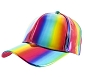 Rainbow Iridescent Cap