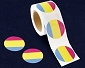 Pansexual Circle Stickers (250 stickers)