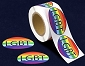 LGBT Rainbow Circle Stickers (250 stickers)