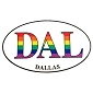 DAL (Dallas) Sticker