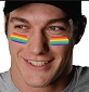 Rainbow Eye Black