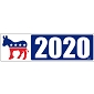 Democrat 2020 Bumper Sticker