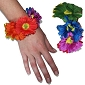 Rainbow Daisy Hair Srunchie / Bracelet / Anklet