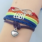 Infinite Love Rainbow Bracelet