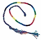 Rainbow String Wrap Bracelet