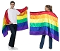 Wearable Rainbow Flag