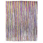 Rainbow Foil Fringe Curtain