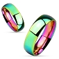 Iridescent Rainbow Ring