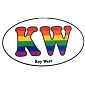 KW (Key West) Sticker