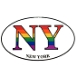 NY (New York) Sticker