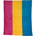 Pansexual Plush Blanket