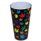 Rainbow Pot Leaves Plastic Cup