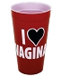 I Love Vaginas Plastic Cup
