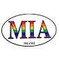 MIA (Miami) Sticker