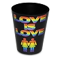 Love is Love Shot Glass (Females)