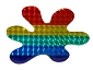 Rainbow Splat Reflective Sticker