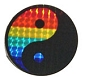 Rainbow Yin Yang Reflective Sticker