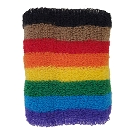 Rainbow Female Terry Cloth Wristband
