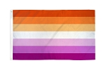 Lesbian Pride 2ft x 3ft Printed Polyester