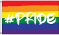 Hashtag Pride Flag 3ft x 5ft  Printed Polyester