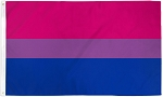 Bisexual Pride 4ft x 6ft Printed Polyester